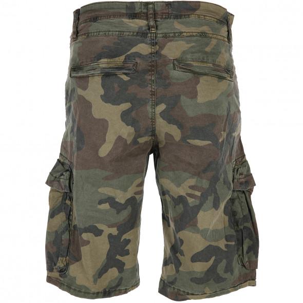 Herren Shorts im Camouflage Style