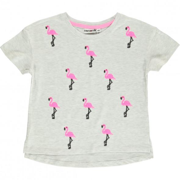 Mädchen Shirt mit Pailletten-Motiven