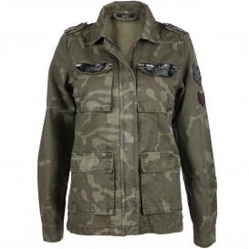 Damen Jacke im Camouflage Look
