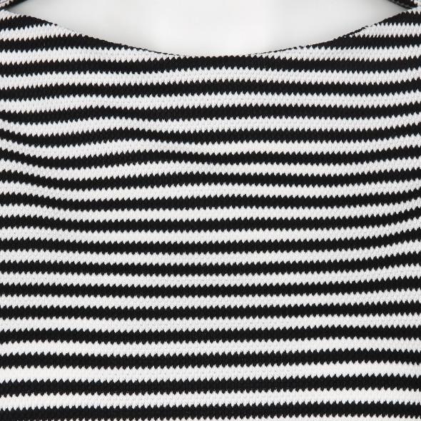 Damen Sweatshirt im Streifen Look
