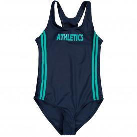 Mädchen Badeanzug in sportivem Design