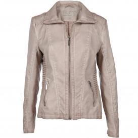 Damen Jacke aus Kunstleder