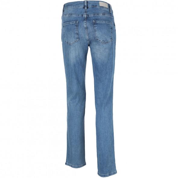 Damen Jeans im 5-Pocket-Stil mit Nietenverzierung