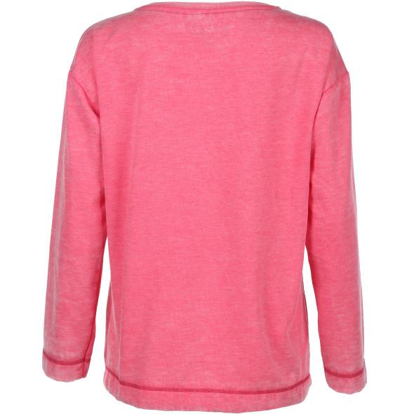 Damen Sweatshirt mit großem Frontdruck