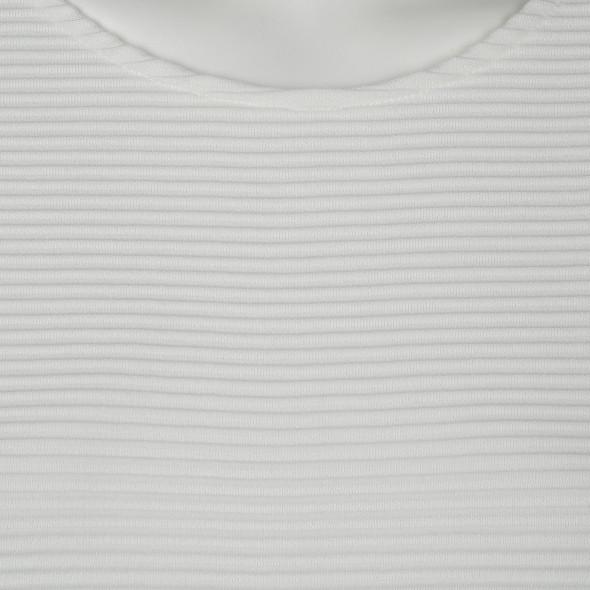 Damen Shirt in gerippter Optik