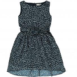 Mädchen Kleid im Punkte Dessin