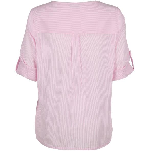 Damen Bluse mit zarten Streifen