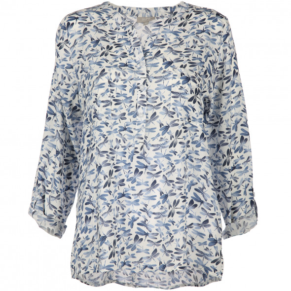 Damen Bluse im Allover Print