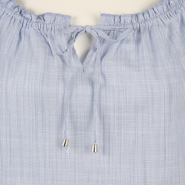 Damen Bluse im zarten Streifenlook