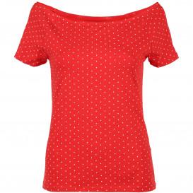 Damen Shirt mit Carmen Ausschnitt