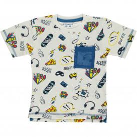 Jungen T-Shirt im coolen Print