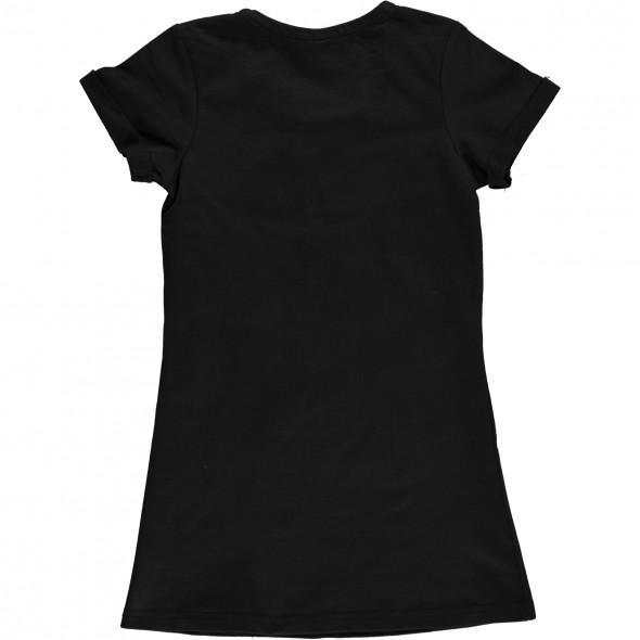 Mädchen Sweatkleid mit Frontprint