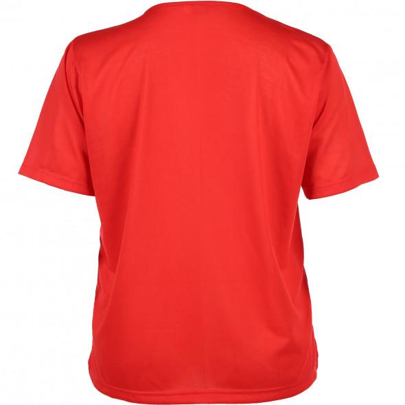 Große Größen T-Shirt mit Ziersteinchen
