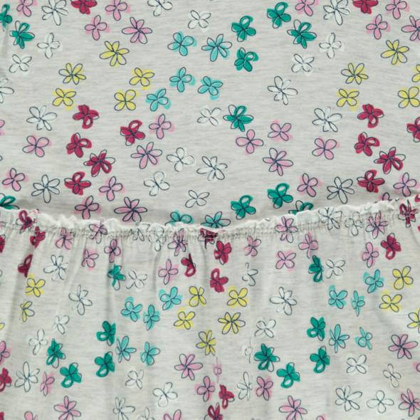 Mädchen Kleid im Blumenprint