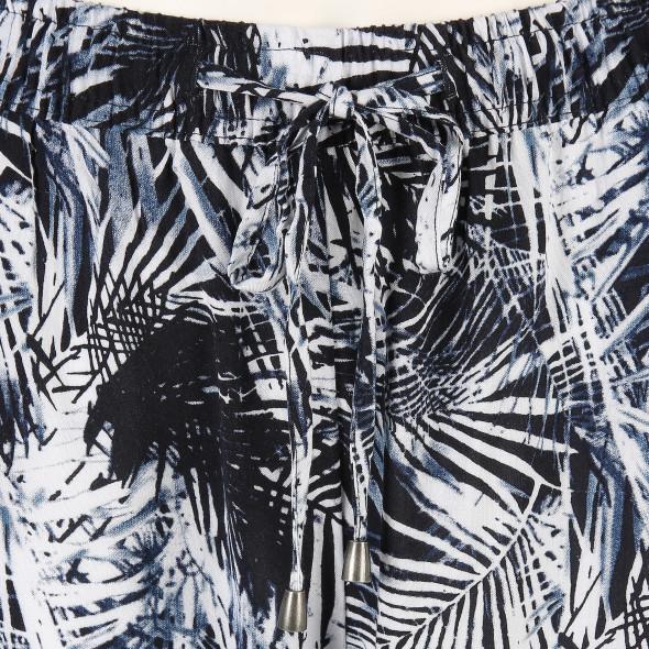 Damen Schlupfhose mit Allover Print
