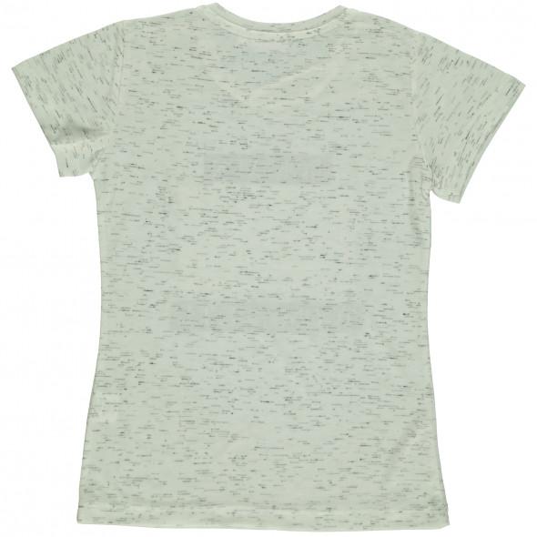 Mädchen Shirt mit Kipp-Paillettenbesatz