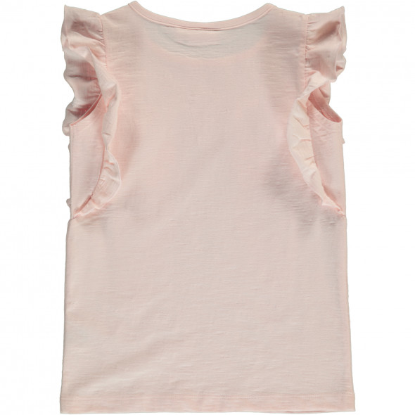 Mädchen T-Shirt mit Papageienprint