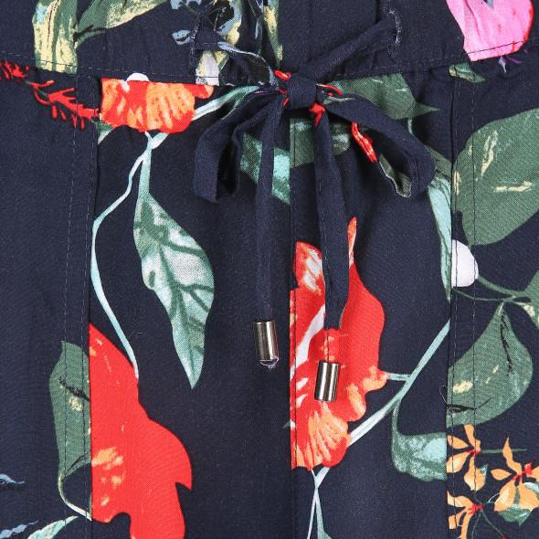 Damen Schlupfhose mit Allover-Print