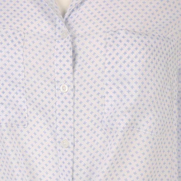 Damen Bluse im Minimalprint