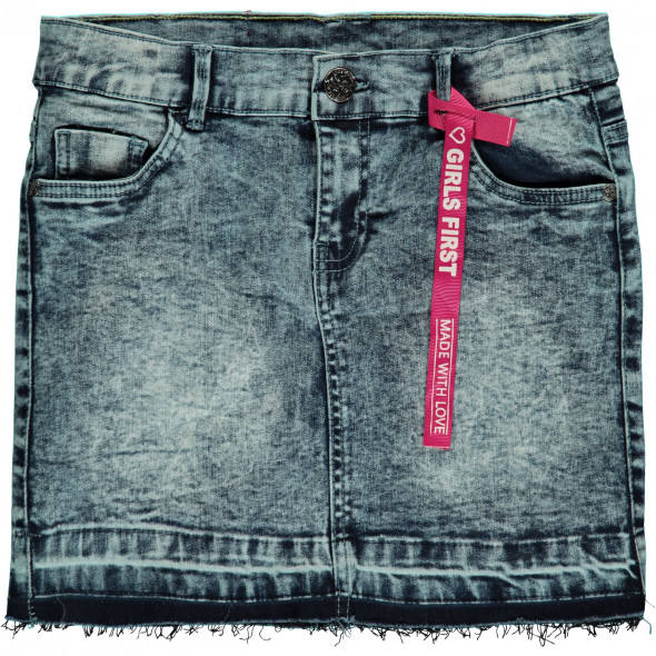 Mädchen Jeansrock in trendiger Waschung
