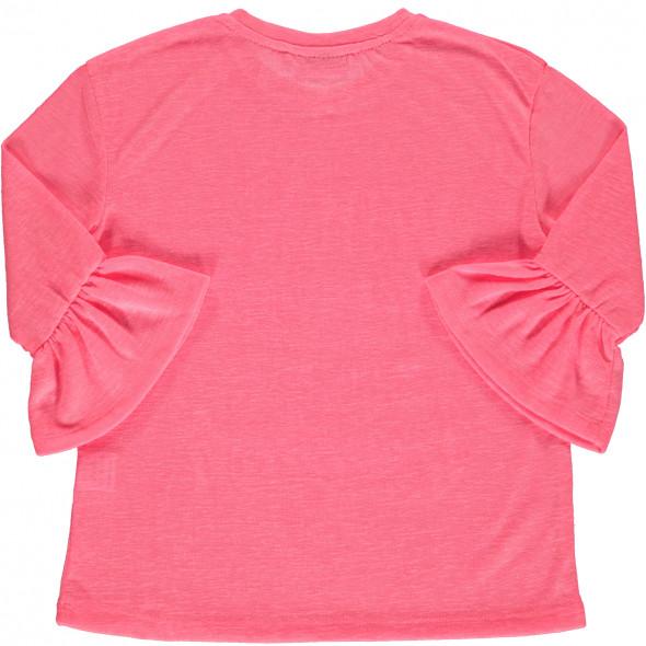 Mädchen Shirt mit 3/4 langem Arm