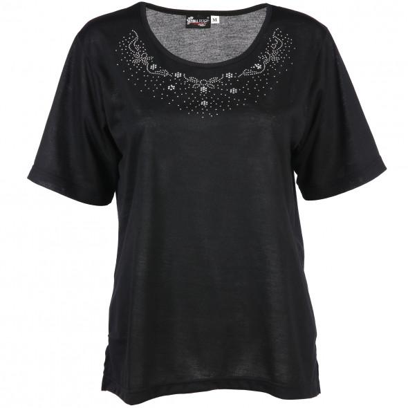 Damen T-Shirt mit Verzierung