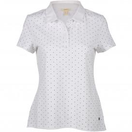 Damen Punkte Polo im klassischem Design
