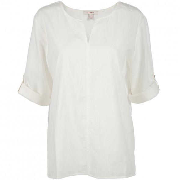 Damen Bluse mit Serafinoausschnitt