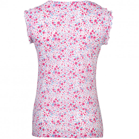 Damen Top mit Blumenprint