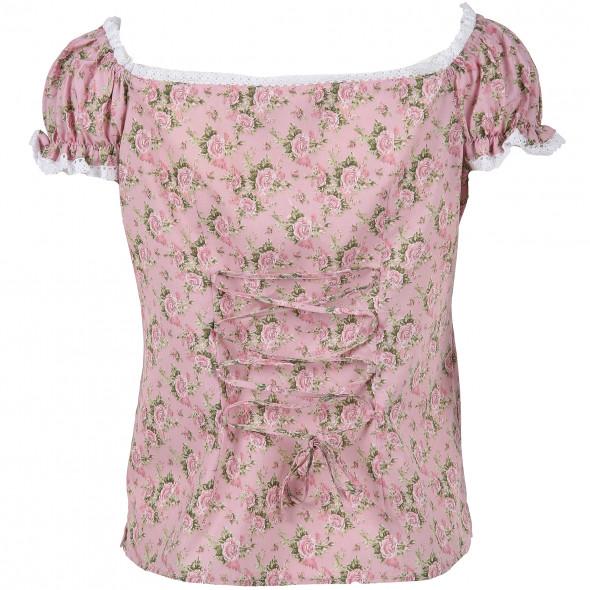 Damen Trachtenbluse im floralen Print