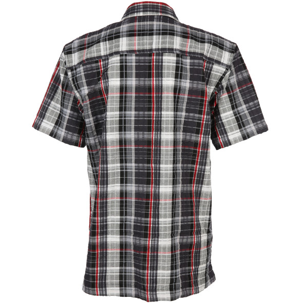 Herren Poloshirt in melierter Optik