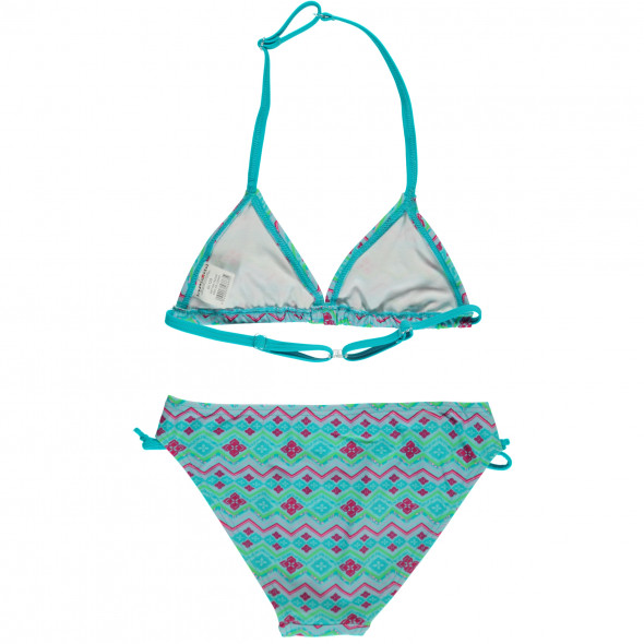Mädchen Triangel Bikini Set im Ethnostyle