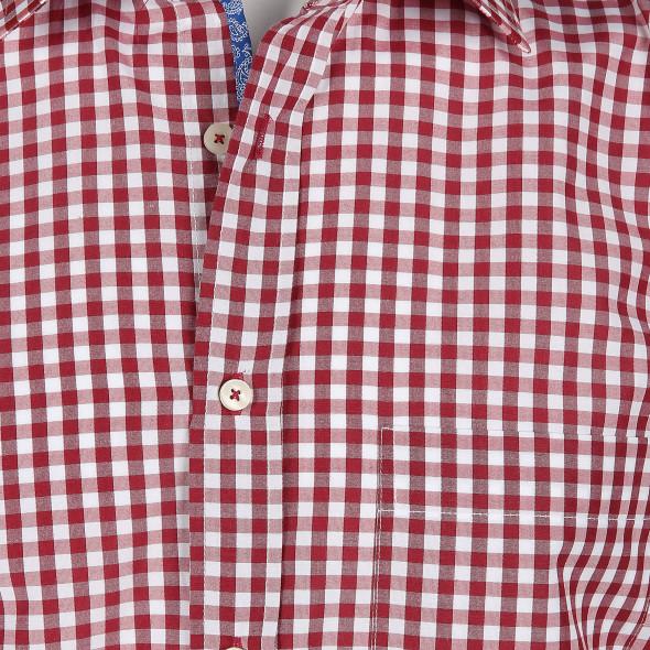 c39344610bdd Herren Cityhemd mit langem Arm (Rot)   AWG Mode