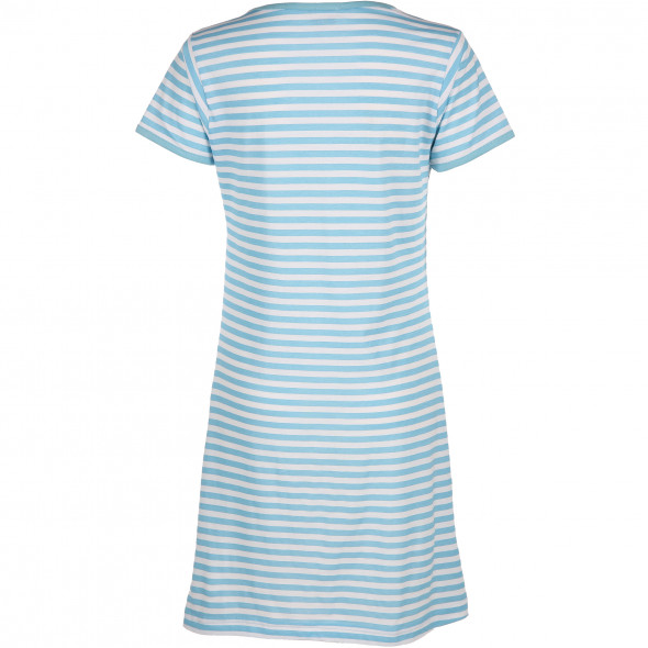 Damen Nachthemd im Ringel-Look
