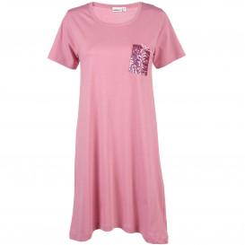 Damen Nachthemd mit Paillettentasche