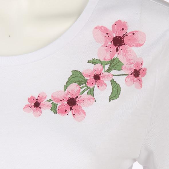 Damen Shirt mit Blumenprint
