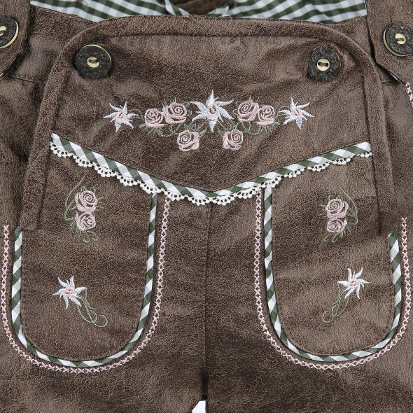 Damen Trachtenhose aus Lederimitat