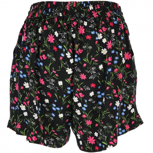 Damen Hot Pants im Blumenprint