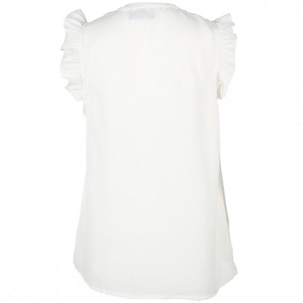 Damen Bluse mit Flügelärmelchen