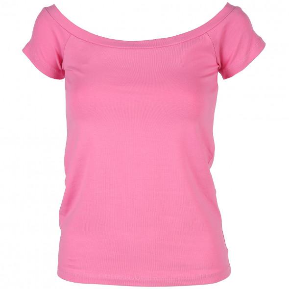 Damen Shirt mit Carmen-Ausschnitt