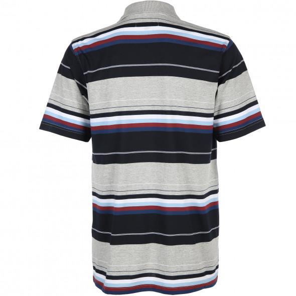 Herren Poloshirt in Streifen Optik