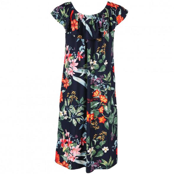 Damen Kleid in floralem Print