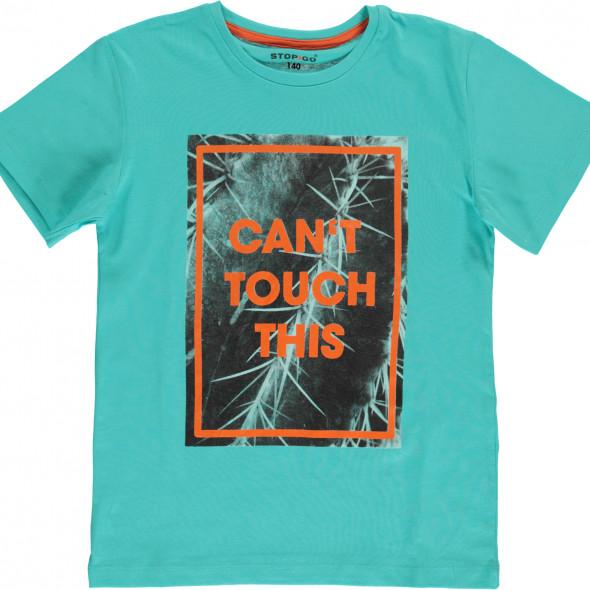 Jungen T-Shirt mit Frontdruck