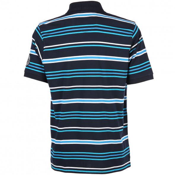 Herren Poloshirt in gestreifter Optik
