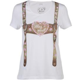Damen Trachten Shirt mit Strass