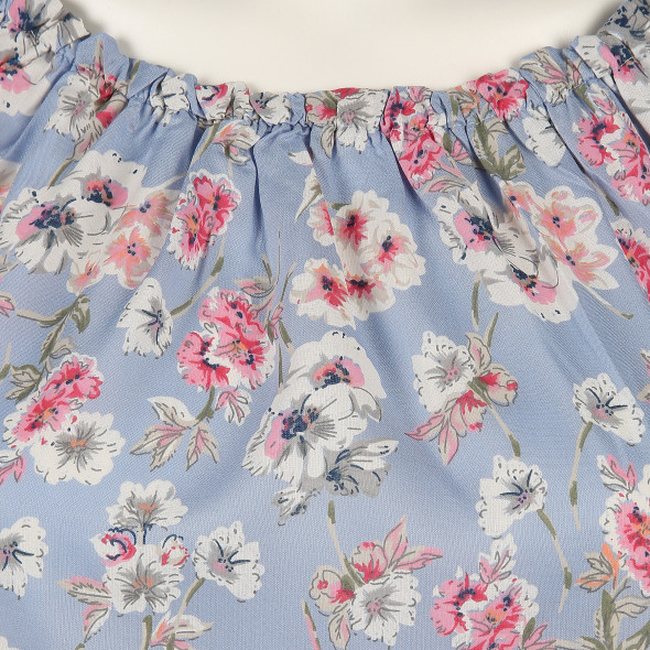 Damen Bluse mit Allover Print