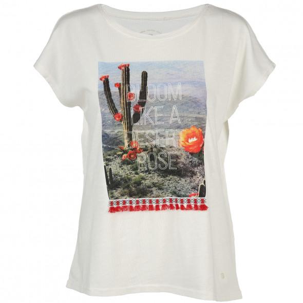 Damen T-Shirt mit Kaktusprint