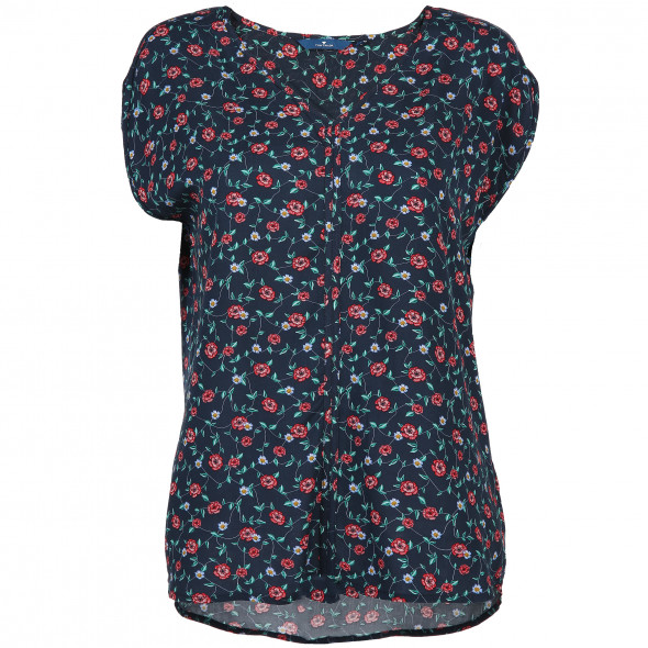 Damen Blusen-Top mit Print
