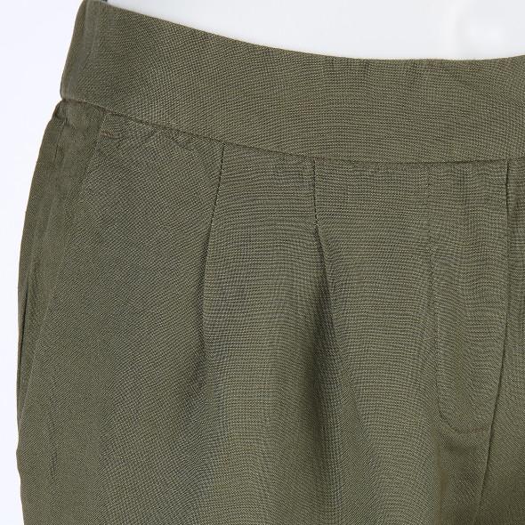 Damen Hose aus Leinenmischung