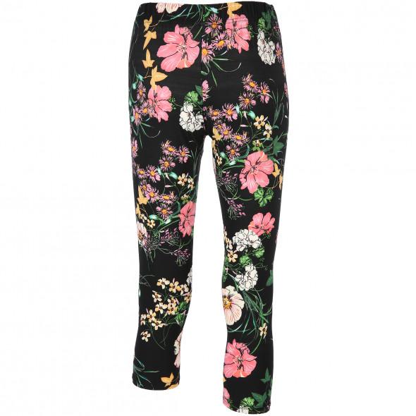 Damen Leggings mit Blumenmuster